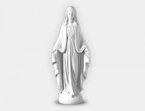 white-marble-memorial-ornament